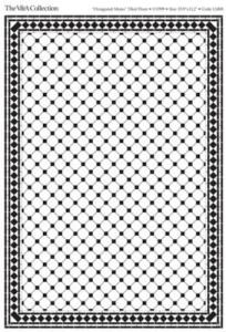 Golv klinker octagonal mono