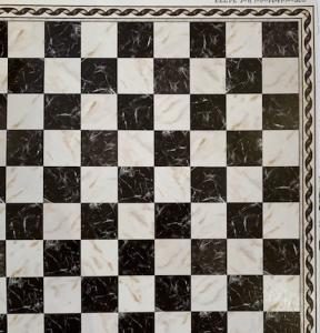 Golv klinker marble black