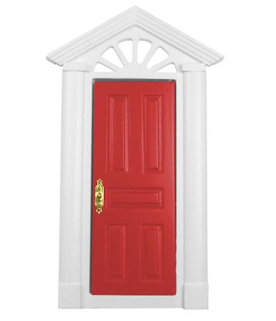 Dörr röd