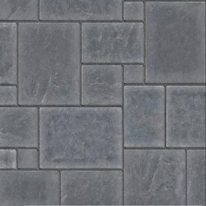 Golv klinker grå Flagstone random tile