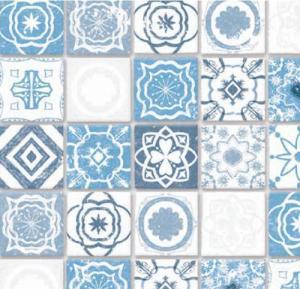 Golv Antique Azure mediterranean tiles kakel klinker