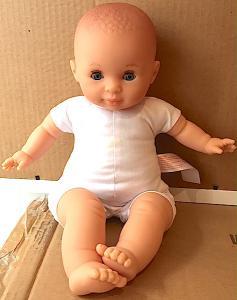 Docka baby Vide babydocka blå ögon blunddocka