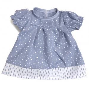 Dockkläder klänning blå 40 cm