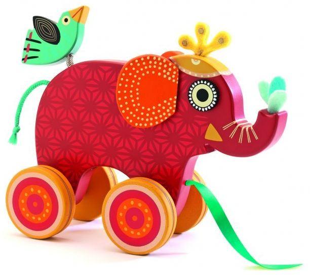 Indi elefant dragleksak