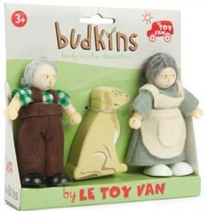 Budkins Farmor o farfar/mormor o morfar med hund