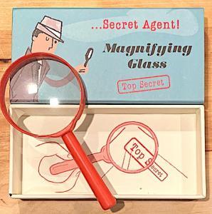 Förstoringsglas secret agent