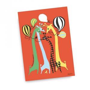 Kort Giraff giraffes design Camilla Lundsten