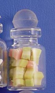Godisburk fudge fruktsmak