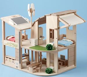 Dockhus inkl. möbler ekologiskt