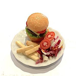 Hamburgertallrik mat