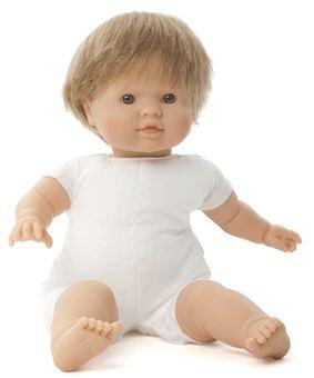 Docka småbarn Mischa ljust hår blond