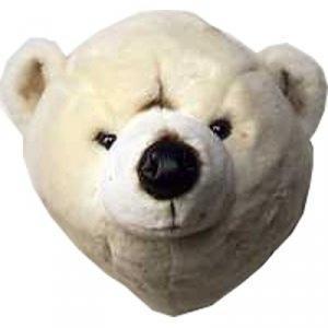 Brigby Isbjörn väggprydnad