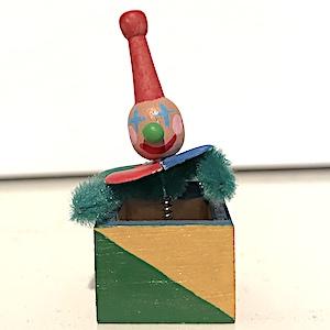 """Leksak gubben i lådan """"Jack in box"""""""