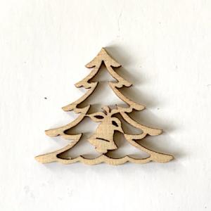 Julgran dekor trä