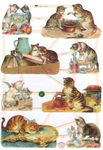 Bokmärken katter 21