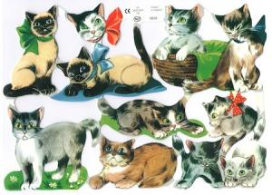 Bokmärken katter lekfulla
