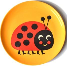 Tallrik NYCKELPIGA ladybug