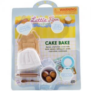 Lottie kläder Cake bake