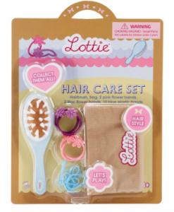 Lottie hårvård borste gummiband