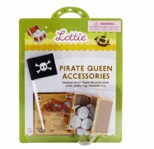 Lottie tillbehör skatt piratflagga skattkarta