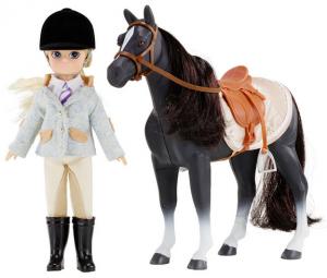 Lottie Pony Club docka och häst