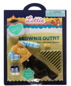 Lottie kläder jeans tröja brownie scout