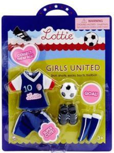Lottie kläder fotbollskläder Girls United