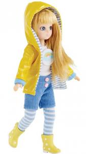 Lottie docka   Lottie Muddy Puddles  i regnkläder och gummistövlar