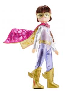 Lottie kläder Super Lottie Superhjälte Lottie