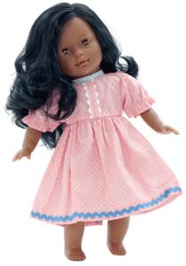 Docka lillasyster Maya med svart hår