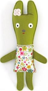 Labo grön kanin 27cm