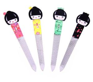 Nagelfil med geisha