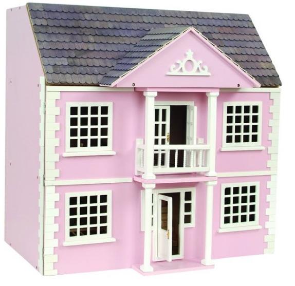 Newnham Manor dockhus rosa