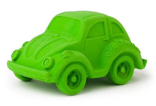 Bil grön naturgummi