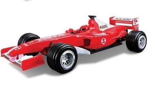 Formula bil Polistil pull back röd