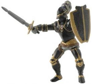 PAPO riddare med svart rustning