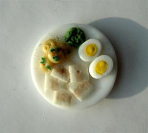 Maträtt Silltallrik