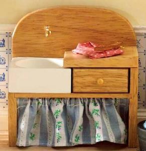 Diskbänk handfat   vask med tvättbräde