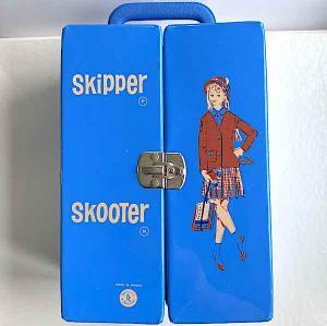 Skipper Skooter väska garderob blå m galgar
