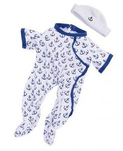 Dockkläder Baby Stella Anchors Away