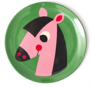 Tallrik HÄST horse