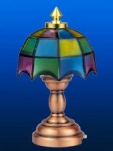 Bordslampa lampa Tiffany flera färger   LED