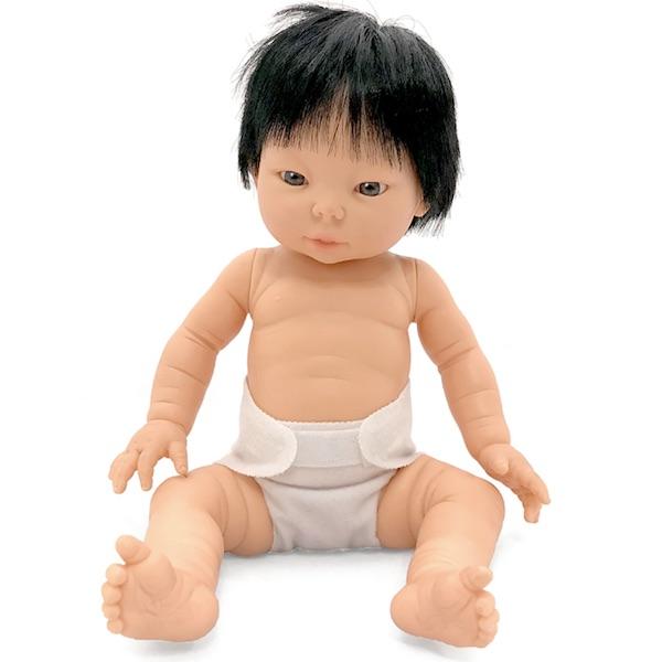 Baby flickdocka Tiny Asia
