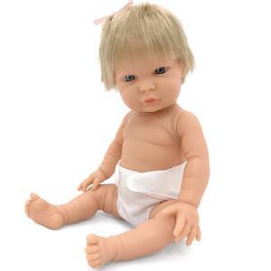 Baby flickdocka Tiny Europe 33 cm