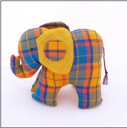 Baby-elefant elefant bomull