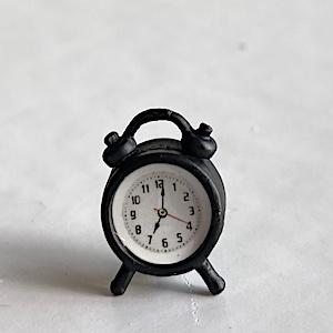 Klocka väckarklocka svart