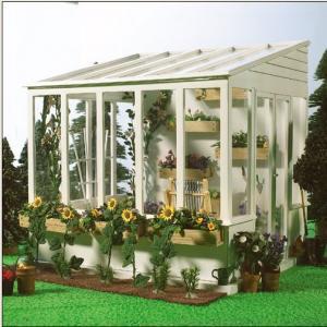 Växthus uterum tittskåp