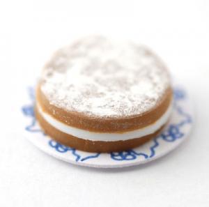Sockerkaka tårta Victoria sponge cake