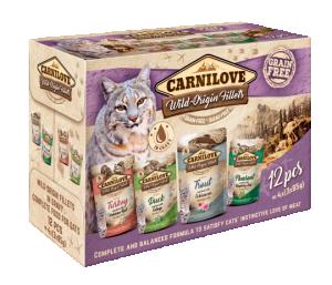 Carnilove Cat Pouch Multipack 12x85 g