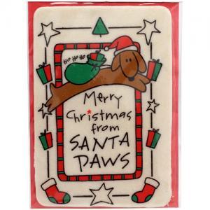 """Bravo Tuggkort """"Santa Paws"""""""